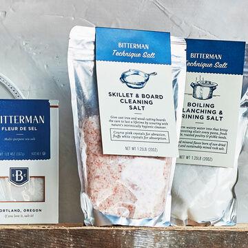 Bitterman Skillet & Board Cleaning Salt, 20 oz.