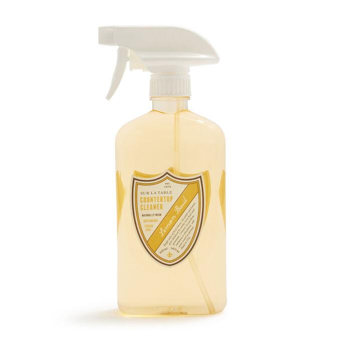 Sur La Table Lemon Basil Countertop Cleaner, 18 oz.