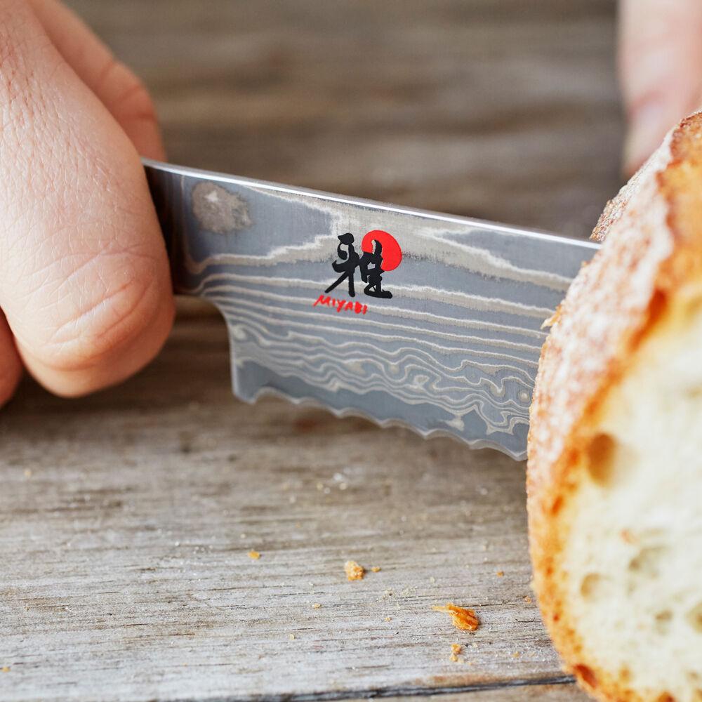 "Miyabi Kaizen II Bread Knife, 9.5"""