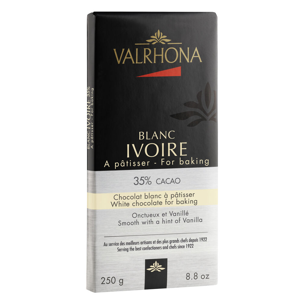 Valrhona Blanc White Chocolate Baking Bar, 35%