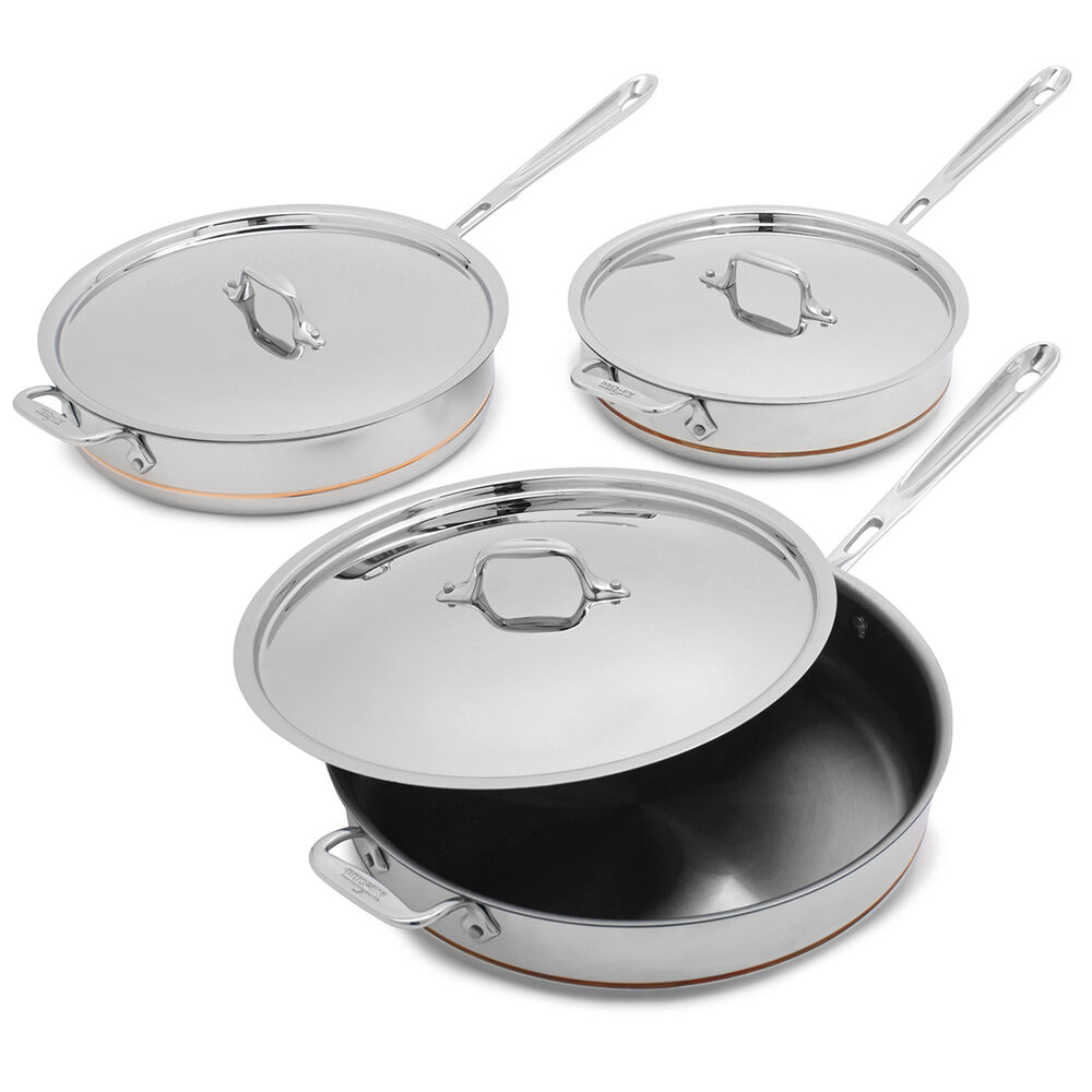All-Clad Copper Core Sauté Pans