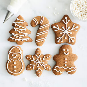 Christmas Mini Cookie Cutters, Set of 6