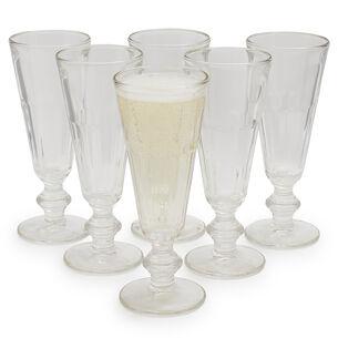 La Rochère Perigord Champagne Flutes, Set of 6
