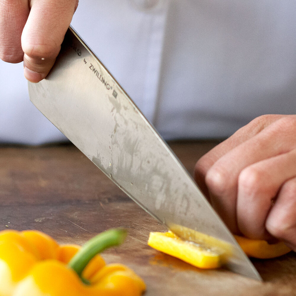 "Bob Kramer 8"" Carbon Steel Chef's Knife by Zwilling J.A. Henckels"