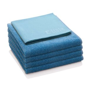 E-Cloth Microfiber Home Cleaning Starter Pack, Set of 5