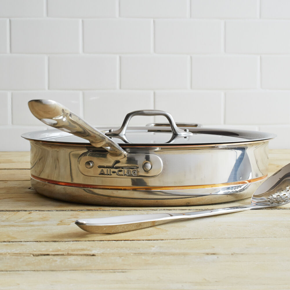 All-Clad Copper Core Sauté Pans
