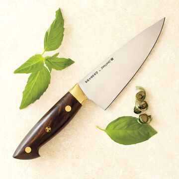 "Bob Kramer 6"" Carbon Steel Chef's Knife by Zwilling J.A. Henckels"