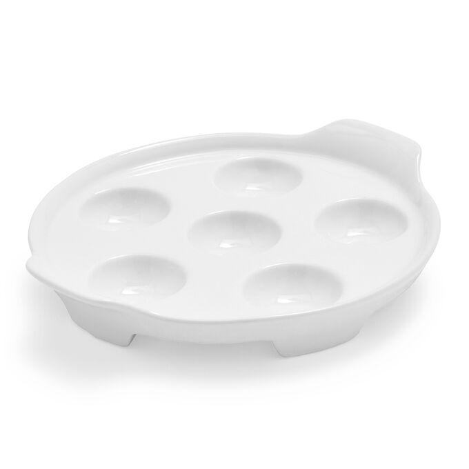 Porcelain Escargot Platter