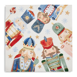 Nutcracker Paper Cocktail Napkins, Set of 20