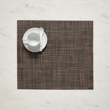 """Chilewich Basketweave Square Placemat, 14"""" x 13"""""""