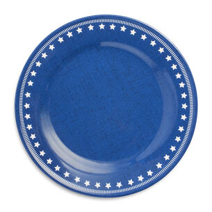 Fourth of July Star Dinner Plates, Set of 4