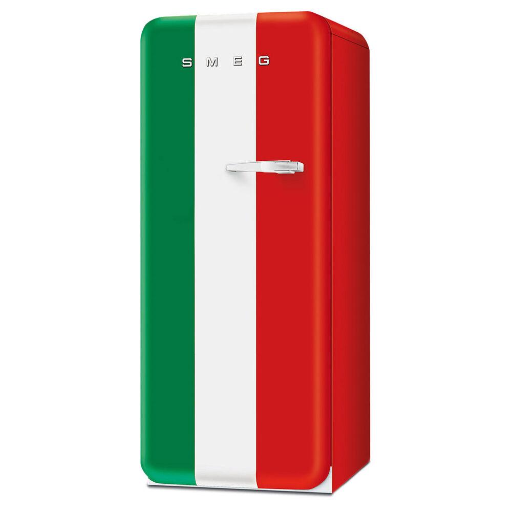SMEG Single-Door Refrigerator with Freezer Compartment, Left-Hand Hinge