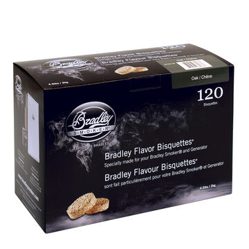 Bradley Smoker Bisquettes, 120 Pack