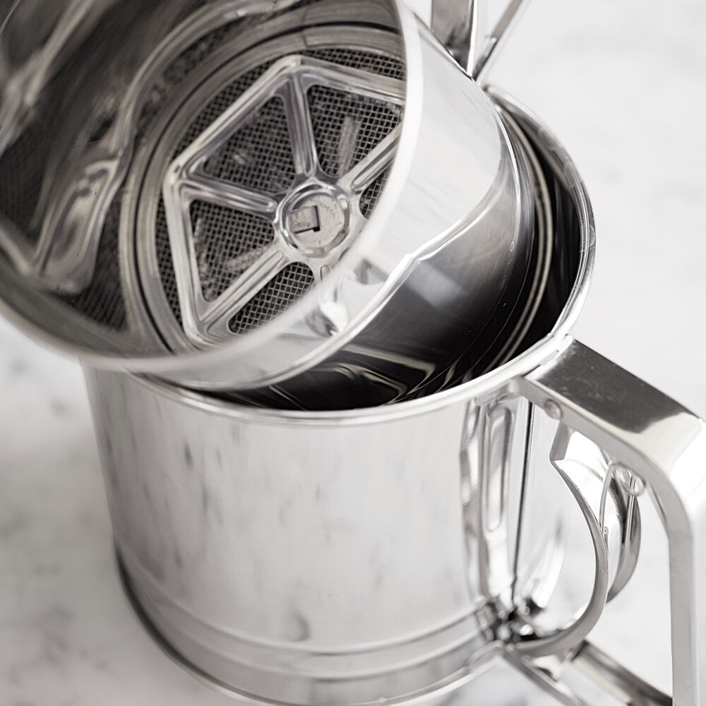 Sur La Table Stainless Steel Sifter, 3 cup