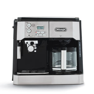 De'Longhi Combination Pump Espresso and 10-Cup Drip Coffee Machine with Advanced Cappuccino System