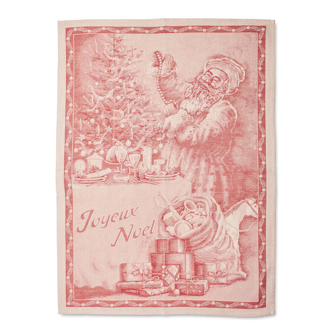 "Santa Jacquard Kitchen Towel, 31.5"" x 23.5"""