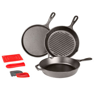Lodge Essential Cookware, Set of 7