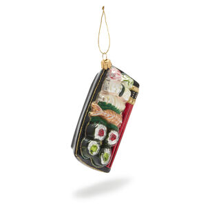Bento Box Glass Ornament