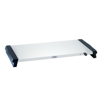 """Stainless Steel Extra-Large Warming Tray, 27"""" x 14"""""""