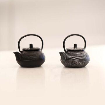 Arare Mini Cast Iron Teapot, 2 oz.