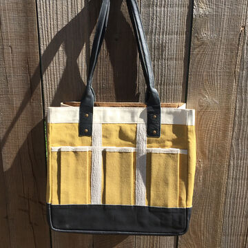 LadyBagsSF Canvas Garden Bag