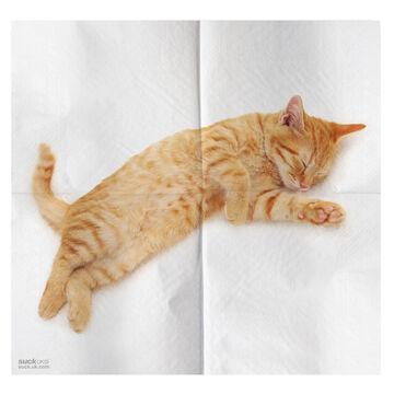 Cat Napkins, Set of 4