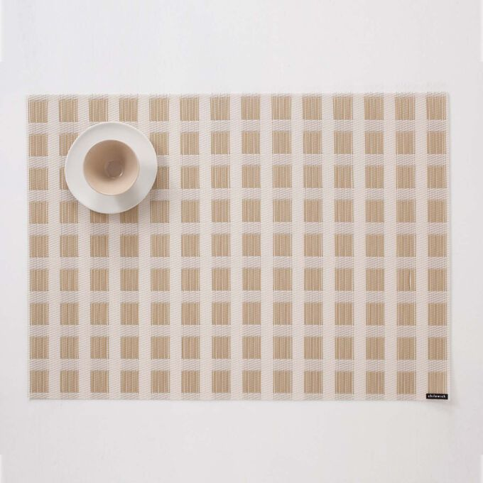 Chilewich Stitch Gold Placemat