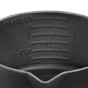 Outset Cast Iron Saucepot with Nesting Silicone Basting Brush