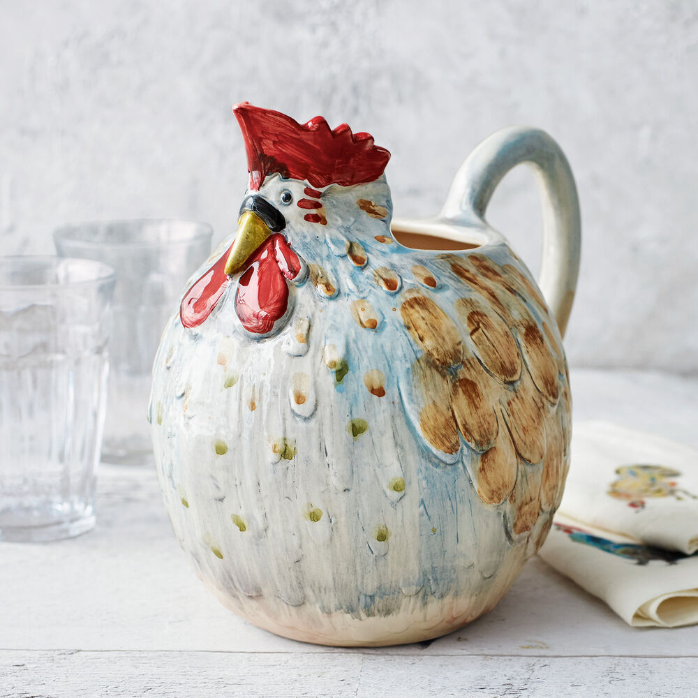 Jacques Pépin Collection Chicken Pitcher