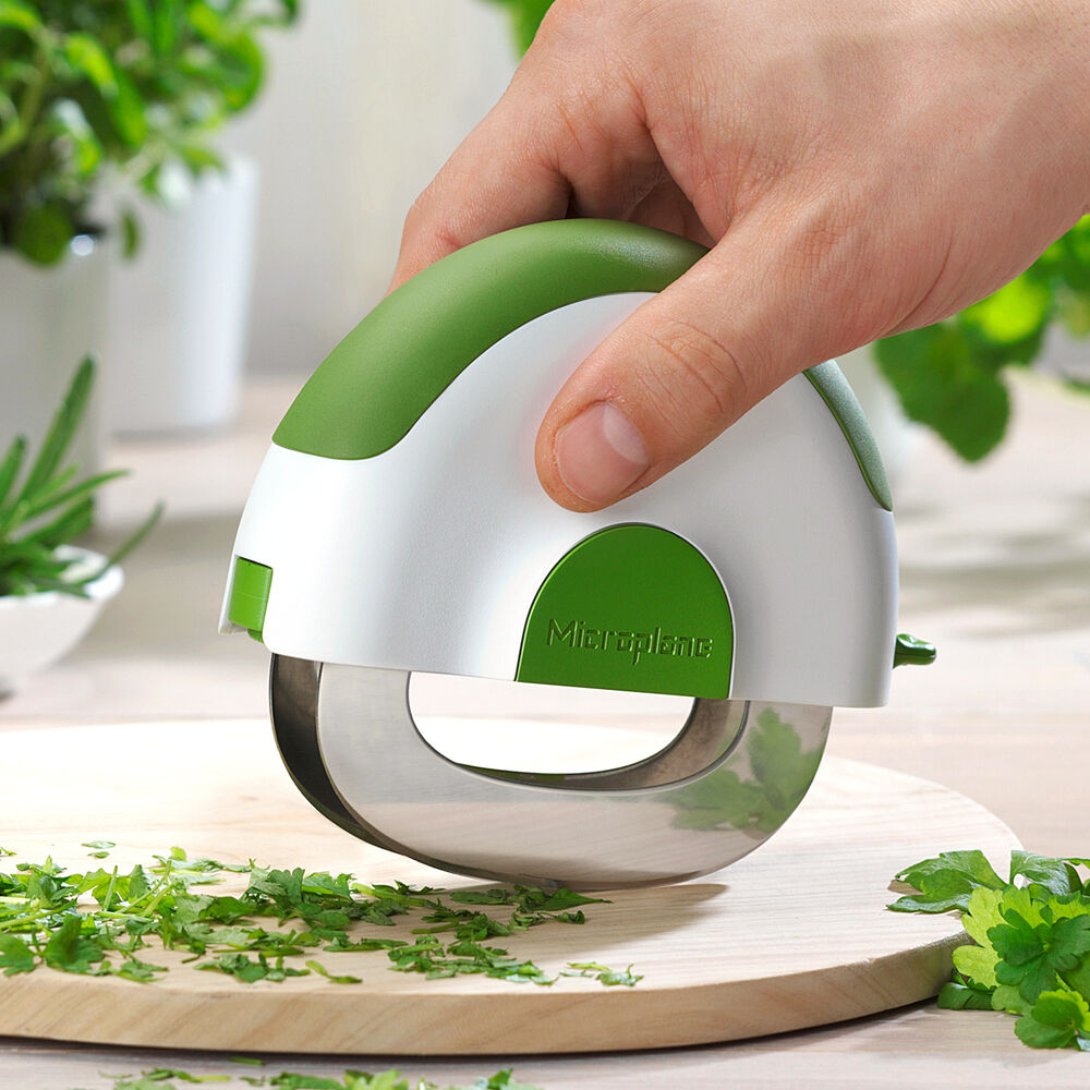 Microplane Herb and Salad Mezzaluna