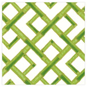 Bamboo Green Cocktail Napkins, Set of 20