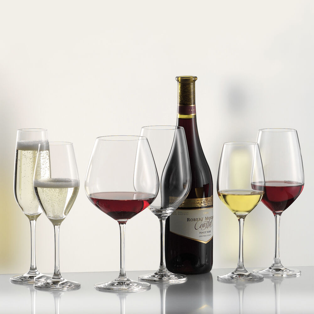 Schott Zwiesel Forte Claret Goblet Red Wine Glasses, Set of 6