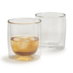 Zwilling J.A. Henckels Sorrento Double-Wall Whiskey Glasses, 9 oz., Set of 2