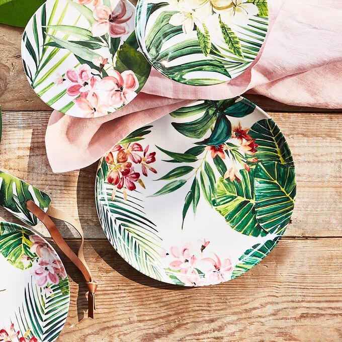 Cabana Melamine Dinner Plate