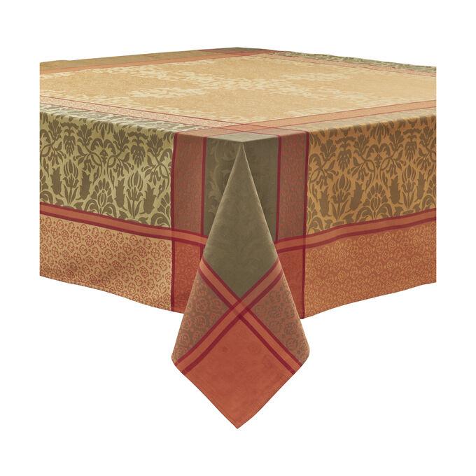 Jacquard Damask Tablecloth
