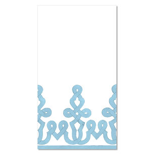 Stone Blue Paper Napkins, Set of 15