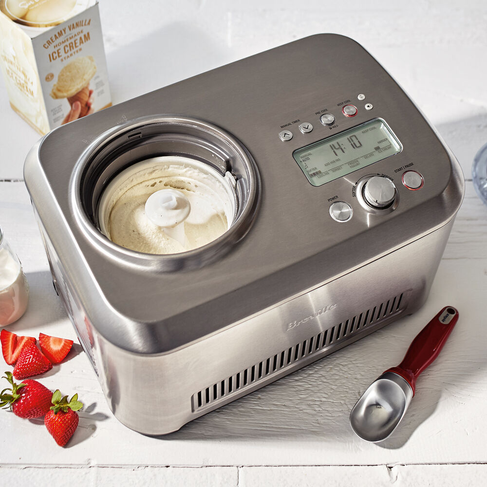 Breville Smart Scoop Ice Cream Compressor
