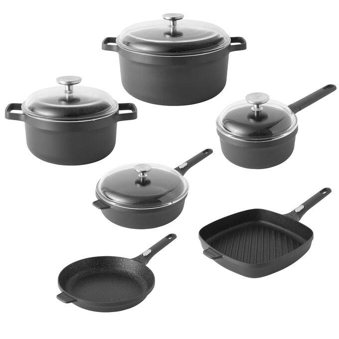 BergHOFF Gem 10-Piece Nonstick Cookware Set