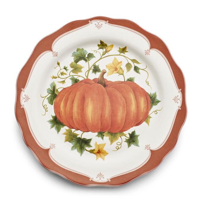 Pumpkin Salad Plate