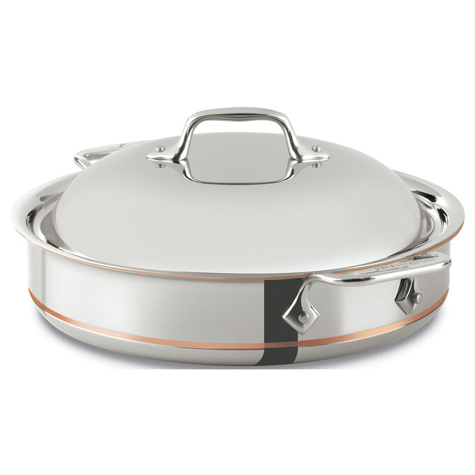All Clad Copper Core Sauteuse, 3 qt.