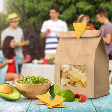 Fred Tortilla Chip Bag Clips, Set of 4