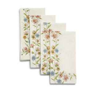 Wildflower Napkins, Set of 4