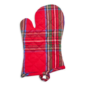 Christmas Plaid Oven Mitt