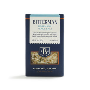 Bitterman Rosemary Flake Salt, 3 oz.