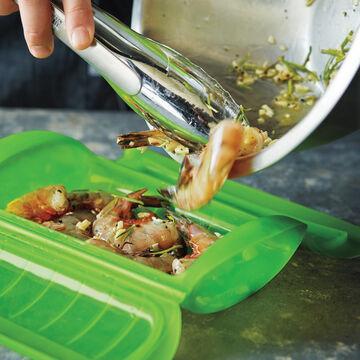Lékué 22-oz. Steamer Case with Tray+ Free Cookbook