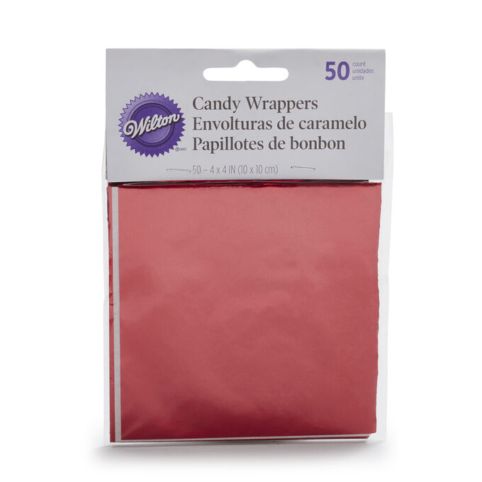 Wilton Foil Wrappers, Set of 50