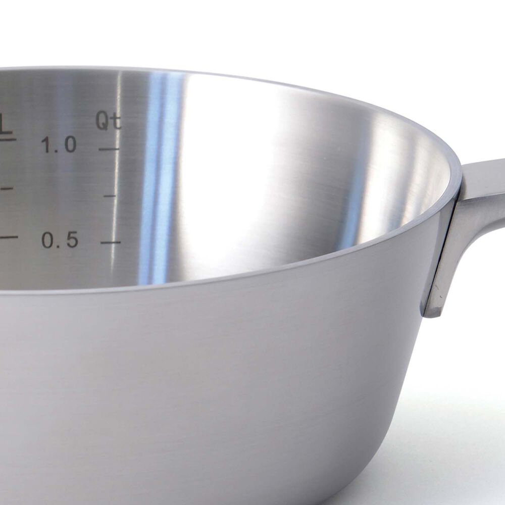 BergHOFF Ron 5-Ply Stainless Steel Saucier, 1.4 qt.