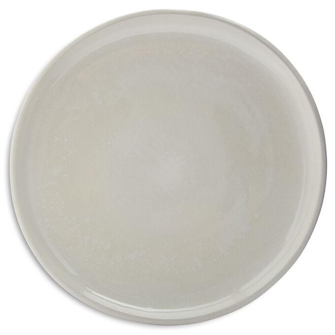 Cloud Terre Hugo Dinner Plate, White