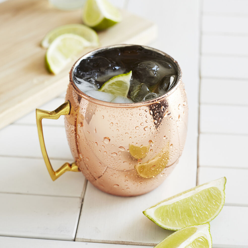 Moscow Mule Copper Mug, Set of 4
