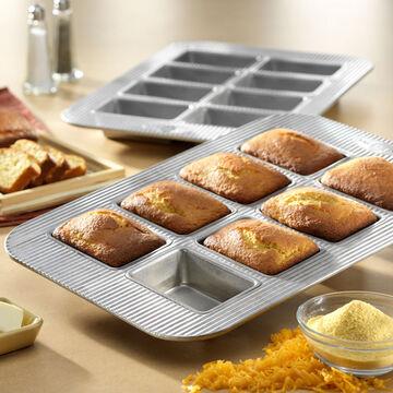 USA Pan Mini Loaf Pan, 8 Count